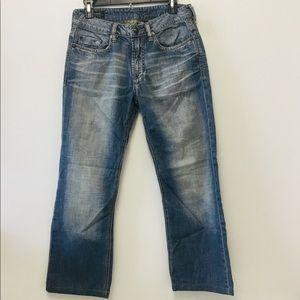New Buffalo Straight-Leg Jeans # Sample